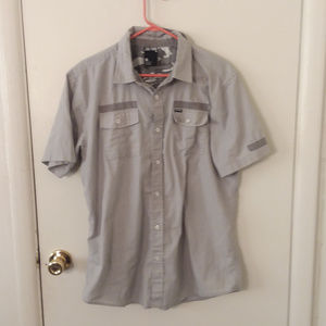 💚 Men's Zoo York Short Sleeve Button Down Shirt